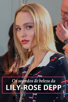 Lily-Rose Melody Depp Nominated for Meilleur Espoir Feminin at the César Awards 2017 Lily Rose Melody Depp, Lily Rose Depp Style, Lily Depp, Vanessa Paradis, Actrices Blondes, Johnny Depp's Daughter, Lily Rose Depp Chanel, Karl Lagerfeld, Lineisy Montero