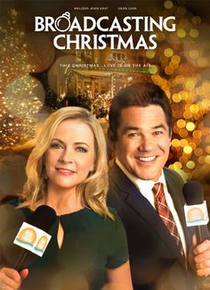 """Its a Wonderful Movie - Your Guide to Family Movies on TV: 'Broadcasting Christmas' - a Hallmark Channel Original """"Countdown to Christmas"""" Movie starring Dean Cain & Melissa Joan Hart!"""