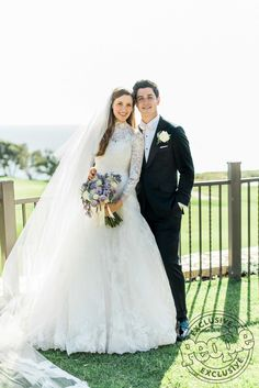 Wizards of Waverly Place's David Henrie Wed Maria Cahill as Selena Gomez Watched Catholic Wedding Dresses, Modest Wedding Gowns, Bridal Gowns, David Henrie, Wedding Pics, Chic Wedding, Budget Wedding, Wedding Couples, Dream Wedding