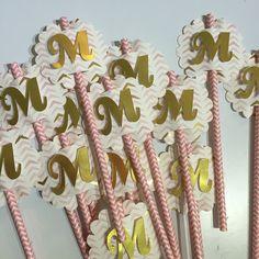 Personalized straws