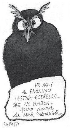 Caricatura de Zapata en la página de Opinión. Caracas, 19/08/2006 (PEDRO LEON ZAPATA / EL NACIONAL).