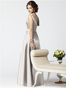 Dessy Collection Style 2853    #white/ivory #bridesmaid #dress