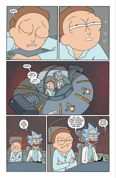 Rick and Morty Issue - Read Rick and Morty Issue comic online in high quality Cartoon Memes, Funny Memes, Rick And Morty Comic, Ricky Y Morty, Wubba Lubba, Justin Roiland, Dan Harmon, Fraggle Rock, Get Schwifty