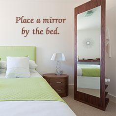 Tip to make your small master bedroom look large