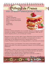 Tartas, Galletas Decoradas y Cupcakes: PLANETA MASAS HORNEAR Cherry Desserts, Kitchen Art, Waffles, Berries, Deserts, Strawberry, Breakfast, Recipes, Diana