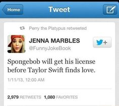 Ok so I love the tweet but let's talk bout the fact that PERRY THE PLATYPUS RETWEETED THAT TWEET