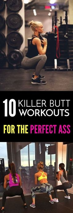 If you do this workout every single day you will get that perfect Butt. But don't forget to pause every third day to give your muscles time to grow! -M