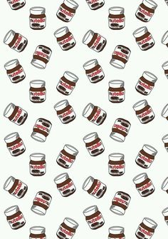 Imagen vía We Heart It https://weheartit.com/entry/159331614/via/23941906 #nutella #wallpaper