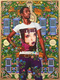 Kehinde Wiley Paintings | Kehinde Wiley