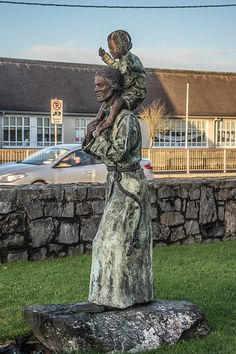 Statue Of St. Conleth: Grounds Of St. Conleth's Parish Church, Naas Rd, Newbridge, County Kildare