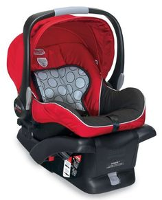Britax B-Safe Infant Car Seat, Red | Best Baby Car Seats