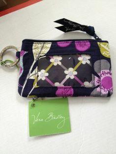 Floral Nightingale Vera Bradley ID Wallet   eBay