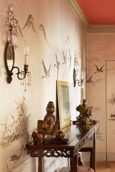 Decoration – Ancient & Modern — Four Amazing Apartments in Four Hours Asian Paints Wall Designs, Studio Decor, Art Decor, Decoration, Bathroom Color Schemes, Luxury Interior, Interior Design, Asian Design, Rococo Style