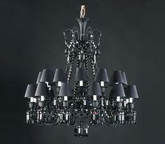 Baccarat Zenith noir par Philippe Starck