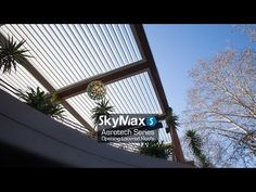 SkyMax - Opening Aluminium Louvred Roofs offer automated sun control, light control, rain protection and are the ideal solution for all commercial projects.