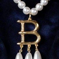 Anne Boleyn's famous B necklace