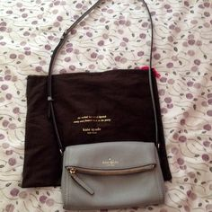 Light smoke mini Carson Use it only three times. In great condition. kate spade Bags Crossbody Bags