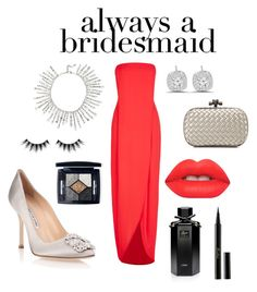 """Be unique for your friend"" by khawlaalshehhi on Polyvore featuring BCBGMAXAZRIA, Giuseppe Zanotti, Manolo Blahnik, Bottega Veneta, Lime Crime, Guerlain, Huda Beauty, Christian Dior and Gucci"