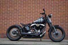 Harley-Davidson Crossbones custom