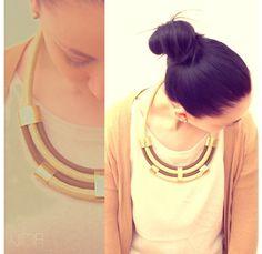 VIMA Rope necklace I by VimaFashionJewelry on Etsy, €51.00
