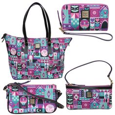 Dooney & Bourke Products Inspired by the Classic Disney Parks Attraction it's a small world' www.jansmagicaltravel.com