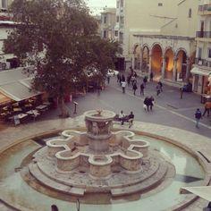 Lions Square, Heraklion Photo credits: @katerina_mavrakaki