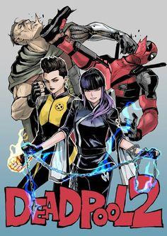 Deadpool 2 || Cable, Negasonic, Yukio || Cr: mahito
