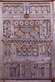 Africa | Carved wooden door. Morocco | © Alan D Hoare ~ Alspict, via flickr