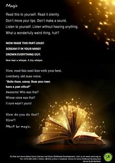 The magic of reading