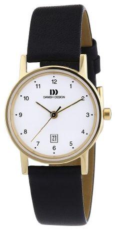 Danish Design Damen-Armbanduhr XS Analog Quarz Leder 3326422 - http://uhr.haus/danish-design/danish-design-damen-armbanduhr-xs-analog-quarz-3