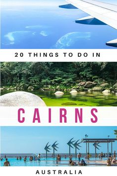 Things to do in Cairns with kids: Click the link for Cairns attractions for families, day trips from Cairns, the Great Barrier Reef & where to stay. Brisbane, Perth, Sydney, Melbourne, Cairns Australia, Visit Australia, Australia Holidays, Great Barrier Reef, Auckland
