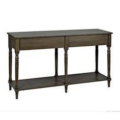 Washington Double Console Table