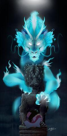 The Stone Dragon by RFakonWolf.deviantart.com on @DeviantArt