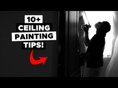 Tips Spraying Ceilings. Painting a Ceiling FAST! Ceiling Painting, How To Make Paint, Painting Tips, Ceilings, Kitchen, Youtube, Paint Ceiling, Ceiling, Cooking