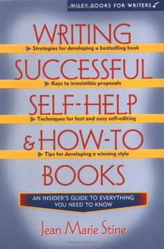 Writing Successful Self-Help and How-To Books (Wiley Books for Writers)  #books #writing