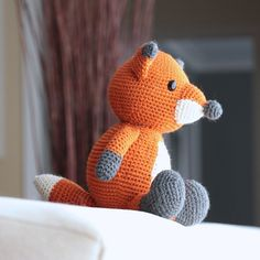 Cedar the Fox The Northern Collective October 2014 Turtlekeeper Designs