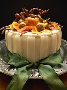 Beautiful cake perfect for Thanksgiving or Autumn gathering Bake