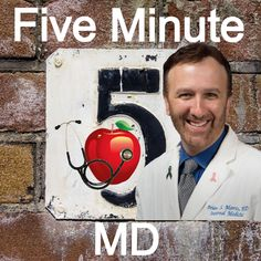 Download past episodes or subscribe to future episodes of Five Minute WellCast: Habits For Healthy Living | Brian Morris, M.D. by Brian Morris, M.D. : Physician, Educator, Music Reviewer, Husband, and Father for free.