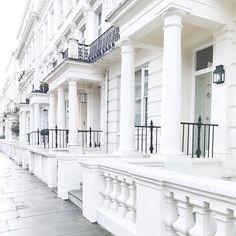 Beautiful houses at Kensington Park Gardens  #bloggers