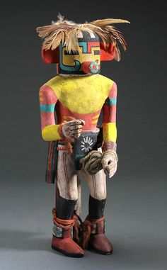 Hopi Katsina Kuwan Heheya #8139