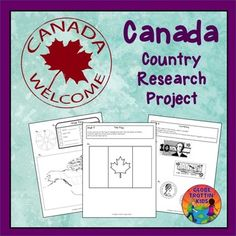 Students complete a variety of activities as they research the geography and culture of Canada. The activities are glued into a separate notebook or journal (not provided), creating an artifact that students can share and keep. Activities include:Maps:  (