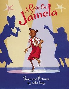 """""""A Song for Jamela"""" by Niki Daly. The only Jamela title I'm not a big fan of. The African version of American Idol is on TV, and Jamela gets to meet her favorite contestant. All does not go well. As always, the characters and illustrations are great and the story draws you in.  However, the plot turns on a piece of cheerful dishonesty approved by all the characters. Not a message we'd want our younger kids to take in, at least without some discussion."""