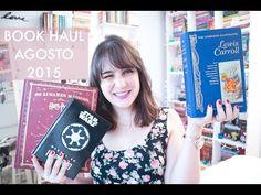 Book Haul: Agosto (2015) + Resultado A noiva fantasma | Melina Souza