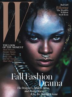 Bad Gal Rihanna: The World's Wildest Style Icon - Rihanna W September Cover
