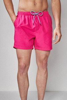 f1785ddf5a Buy Fluro Pink Basic Swim Shorts from the Next UK online shop
