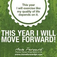 Motivation for a healthier you.     Repin this for a chance to win an iPod: www.moveforwardpt...