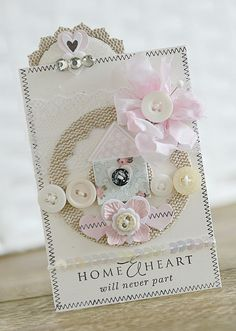 Paper Girl Crafts: Created with PTI and Precious Remembrance stamps