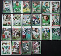 1991 Topps Philadelphia Eagles Team Set of 22 Football Cards #PhiladelphiaEagles Keith Jackson, Football Cards, Baseball Cards, Eagles Team, Team Leader, Philadelphia Eagles, Soccer Cards