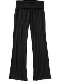 Love the waist band! - Old Navy - Women's Fold-Over Jersey Lounge Pants