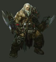 barbarian, new, strange_people - computer graphics plus